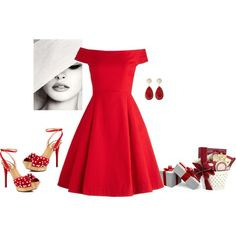 """little red dress"""