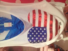 Fourth of July outfit from PINK