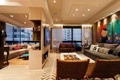 Sala de estar + TV.