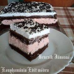 Receptek, és hasznos cikkek oldala: Tejszínes puncsos krémes sütemény
