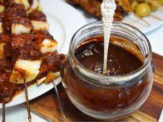 Bbq sås - Victorias provkök Chocolate Fondue, Dips, Bbq, Food And Drink, Soup, Victoria, Desserts, Sauces, Dressing
