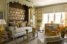 fabulous nursery designed by Joe Lucas and Parrish Chilcoat of  Lucas Studio