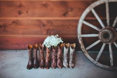 Cowboy Wedding in the Mountains