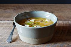 Super easy, but non-traditional; make sure you use GF soy sauce - Joanne Chang's Hot and Sour Soup