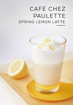Spring is in the air. Celebrate the fresh flowers and warmer weather with this C. - Coffee☕Time with Friends 5 - Specialty Coffee Drinks, Coffee Drink Recipes, Tea Recipes, Coffee Bread, Coffee Menu, Drink Coffee, Nespresso Recipes, Latte Flavors, Pumpkin Spiced Latte Recipe