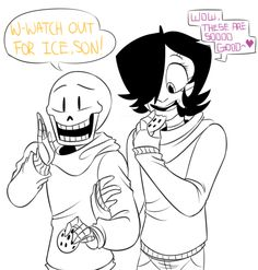 Just Undertale — Papyton Family photo I made impact a toddler...