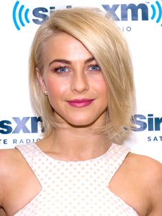 Older: Julianna Hough's too-perfect bob with ends that curve