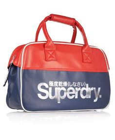 Superdry Tricolour Racket Tote