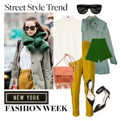 NYFW by janicevc on Polyvore featuring polyvore fashion style Jil Sander Navy Comptoir Des Cotonniers Romeo Gigli Nardelli Prada Yves Saint Laurent Spicher and Company 3.1 Phillip Lim women's clothing women's fashion women female woman misses juniors StreetStyle NYFW Newyork