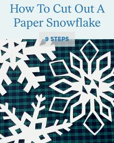 How to cut out a paper snowflake How to cut a paper snowflake in 9 steps from jumpropecreators madeonjumprope jumpropeapp jumprope How to cut a paper snowflake How to cut a paper snowflake jumpropecreators madeonjumprope jumpropeapp jumprope Diy Christmas Fireplace, Diy Christmas Snowflakes, Snowflake Craft, Christmas Paper Crafts, Christmas Diy, Christmas Decorations, Christmas Ornaments, Cut Out Snowflakes, Snowflake Origami