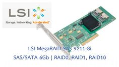 Technical Specifications ของ RAID Card LSI MegaRAID SAS 9211-8i Specifications #RAIDCard #RAID0 #RAID1