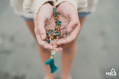 Authentic mala bead offerings from Bali. Hippie Bohemian, Boho Gypsy, Looks Vintage, Wild And Free, Free Spirit, Boho Fashion, Boho Chic, Turquoise Necklace, Drop Earrings
