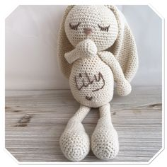 Organic cotton bunny 💕