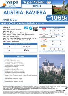 Austria-Baviera salidas 22 y 29 de Junio **Precio Final desde 1219** ultimo minuto - http://zocotours.com/austria-baviera-salidas-22-y-29-de-junio-precio-final-desde-1219-ultimo-minuto-4/