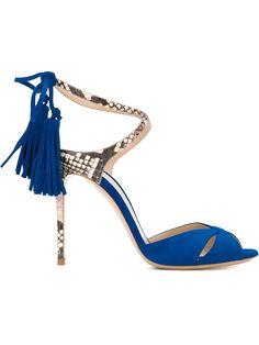Casadei tassel detail stiletto sandals