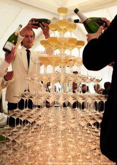Kate Moss Wedding - Champagne Fountain