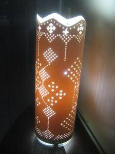 pvc de 150mm luminaria em pvc cano de pvc de 150mm todo pontilhado