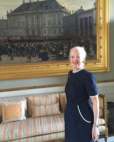 "european royals on Twitter: ""The first photo posted on the Danish RF's instagram account was a photo of the Queen taken by Crown Prince Frederik."