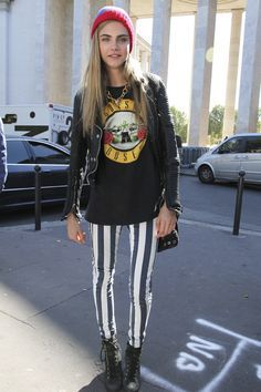 cara delevingne street style - Google Search