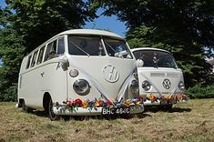 Planning a wedding in Basildon? Why not go for an unusual wedding car, and hire our VW wedding camper. Wedding Car Hire, Wedding Company, Tiny Camper, Vw Camper, Preston Court, Brides Maid Proposal, Wedding Car Decorations, White Vans, London Wedding