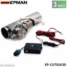 3 Inch Electric Exhaust Cutout