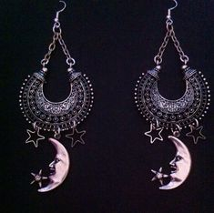 Stevie Nicks Gypsy Jewelry Earrings  Belly by RedGypsyJewelry