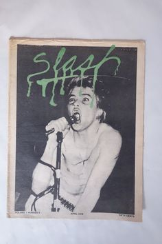 Darby Crash SLASH MAGAZINE Iconic issue Volume 1 by EmporioX