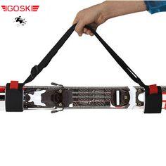스키 스노우 보드 블랙 핸드백 크로스 컨트리 스키 폴 가방 산악 스키 스노우 보드 보호 배낭