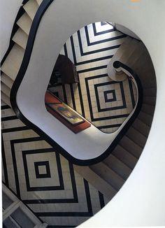 Awesome & Sexy Stairway - Art Deco period, Havana Cuba
