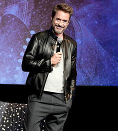 """Robert Downey Jr. speaks onstage at """"Wind River"""" special screening at SCADShow on November 29, 2017 in Atlanta, Georgia."""