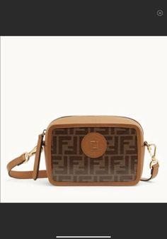 6b8bcd0d508d Details about Authentic Fendi Canvas Camara Bag