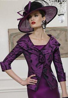 photo of ladies formal daywear design by Veni Infantino