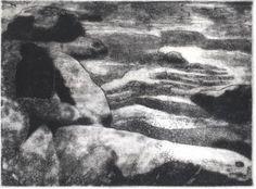 "Saatchi Art Artist Thomas Norulak; Printmaking, ""Ohiopyle Rocks - Limited Edition 2 of 10"" #art"
