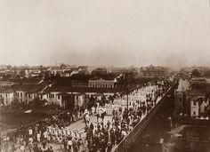 1907 - Inauguração do antigo Viaduto do Chá.