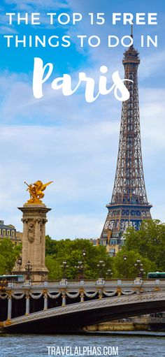 Looking for some Paris travel inspiration? Looking for some Paris budget travel tips? Here are 15 free things you can do while in Paris. Many of these things are under-the-radar things to do, which will save you money and enhance your trip to Paris, France! #traveltipsbudget