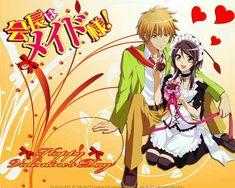 Misaki and Usui - Kaichou wa Maid-sama
