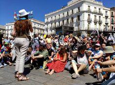 Los indignados celebran 4º aniversario del 15-M en Sol #peritic