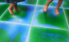 Modular Liquid Floor Tiles by B.lab Italia