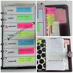 How do I use the journal bullet method in my Filofax - Office