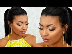 Maquiagem madrinha de dia | passo a passo pele negra - Por Camila Nunes