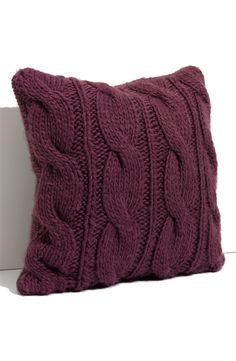 Nordstrom at Home Cable Knit Pillow   Nordstrom