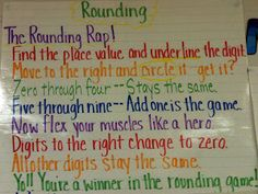 Cute rounding rap and problem solving song to help kids remember the steps.