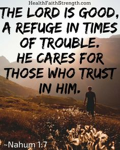 It can be difficult to continue trusting God in the valleys we find ourselves in. But God is in control, and these 55 Bible verses remind us of that. | HealthFaithStrength.com