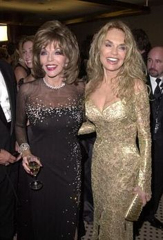 Dyan Cannon and Joan Collins