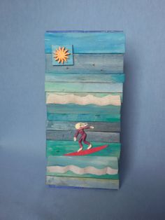Retrouvez cet article dans ma boutique Etsy https://www.etsy.com/listing/291591837/the-surfing-girl