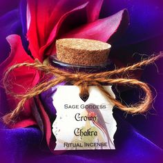 Crown Chakra Ritual Incense by TheSageGoddess, $18.00