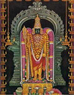 Today Swami malai Lord Murugan wears Gold Garland at Tamilnadu.  #SwamiMalai #LordMuruga #Templefolks