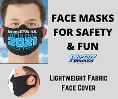 Lightweight fabric face cover available in Airlume combed and ring-spun cotton/polyester. Two ear holes accommodate various face shapes and sizes. Contoured design to cover the user's nose and mouth. Customize these facemasks with your choice of design and order now! #facemasks #customfacemasks #designerfacemasks #customdesignfacemasks Personal Fitness, Face Shapes, Sport Outfits, Spun Cotton, Custom Design, Ear, Ring, Cover, Fabric