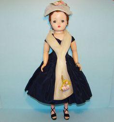 1957 Madame Alexander Cissy Doll in 2146 Evening Dress All Original Gorgeous | eBay