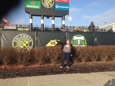 Sara at Crew Stadium